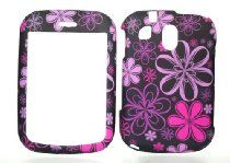 Charter Inc offer Purple & Pink Flower Rubberized Snap on Hard Protective Cover Case for Pantech Jest TXT8040 tx8040. This awesome product currently limited units, you can buy it now for  $4.95, You save - New