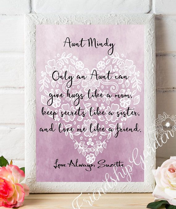 Aunt Gifts For Auntie Gift Personalized Best