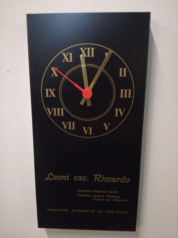 Orologio vintage-orologio da parete-orologio a pila-orologio