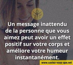 un message inattendu www.saviez-vous-que.net site de divertissement
