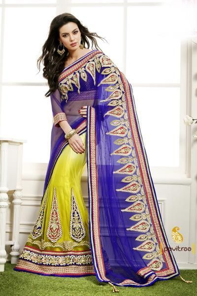 Pavitraa Astonishing heavy Worked Lahenga Saree