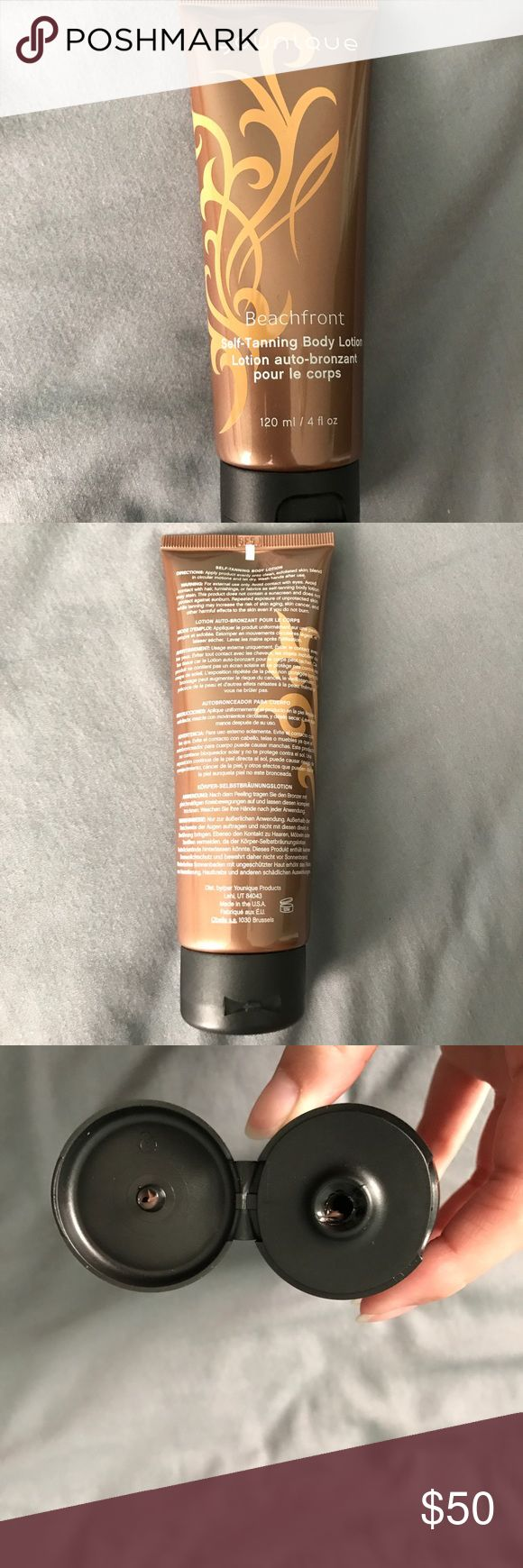 Younique self tanning lotion Brand new! Tested on my arm, but that's it. younique Makeup