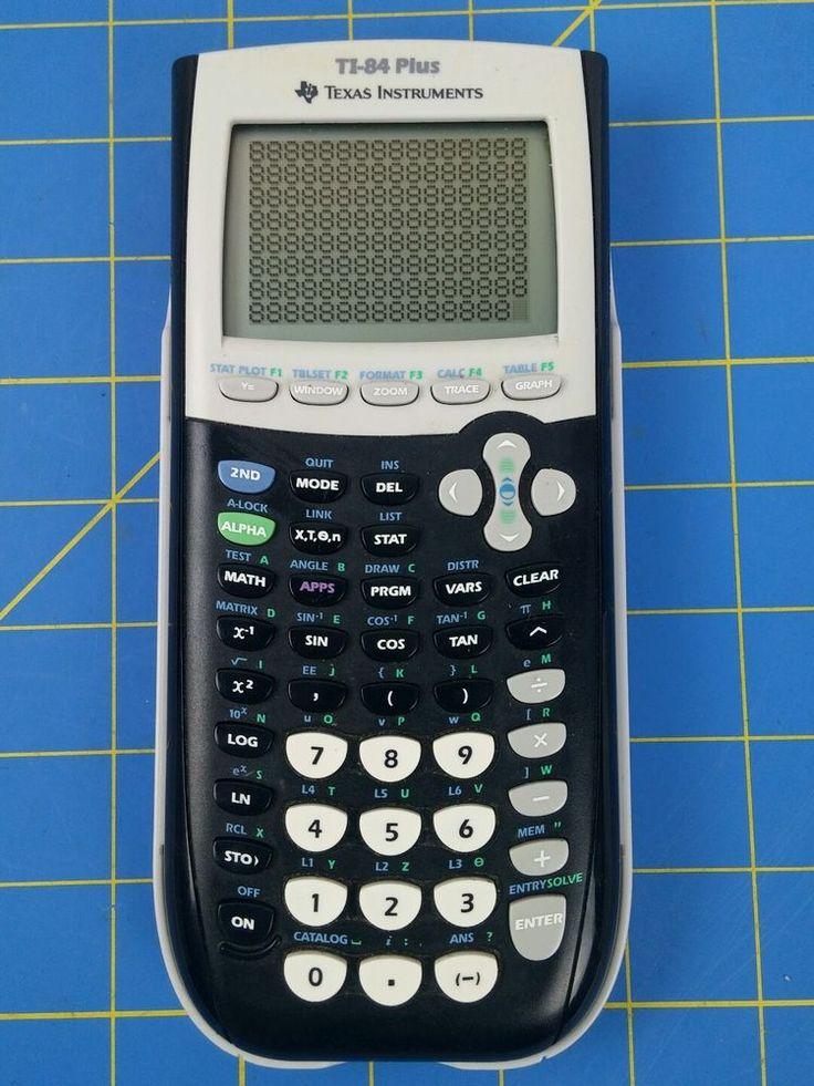 Texas Instruments TI-84 Plus Graphic Calculator TI84+ TI 84+ Free Ship To USA #TexasInstruments