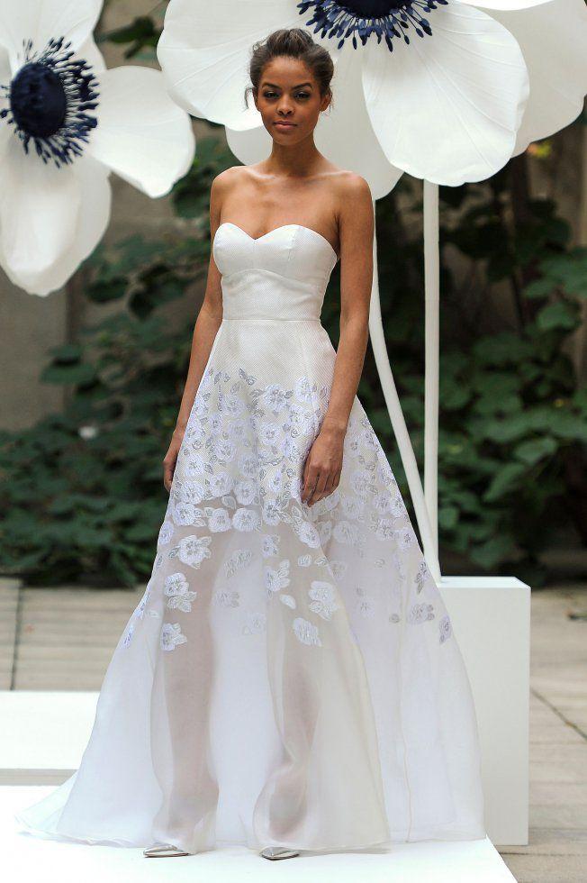 Robe de mariée bustier Lela Rose brd F16 016                                                                                                                                                                                 Plus