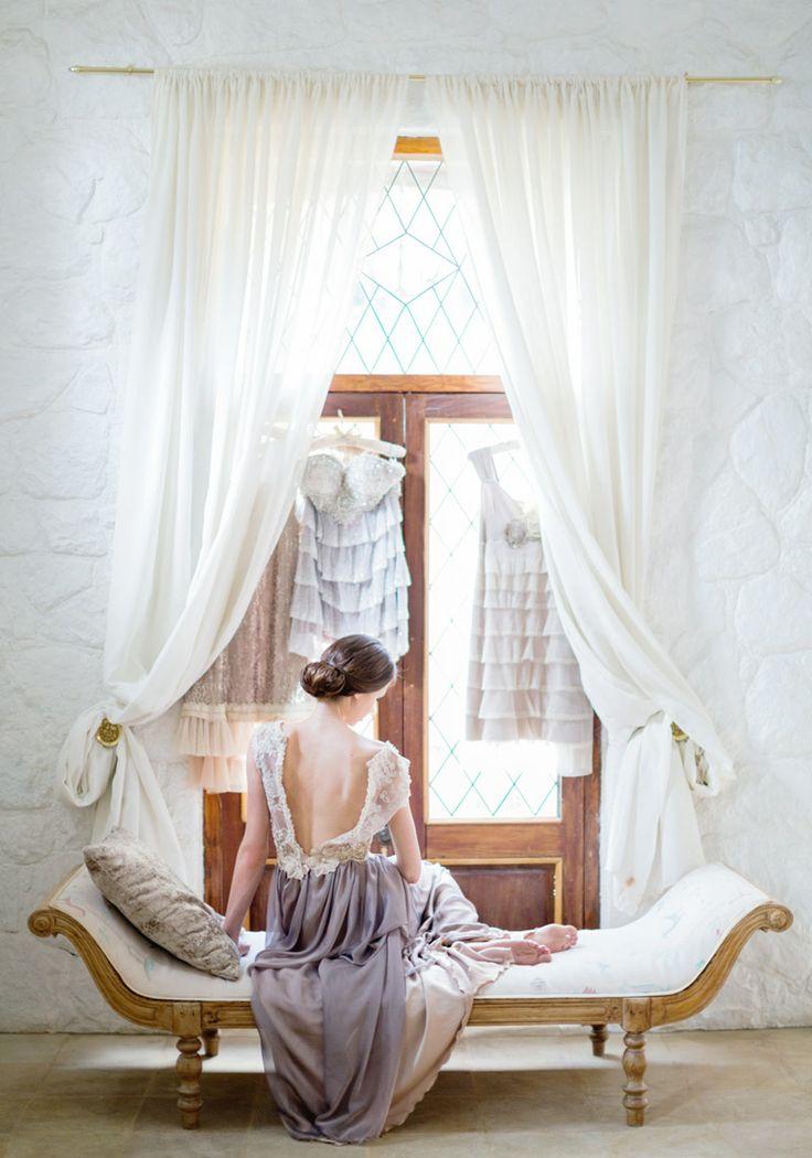 Fabulous dress by Jana Meintjies from Silver Swallow.