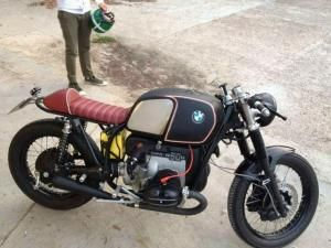 BMW R90 Cafe Racer - KT Motorcycles - Ottonero by lynn