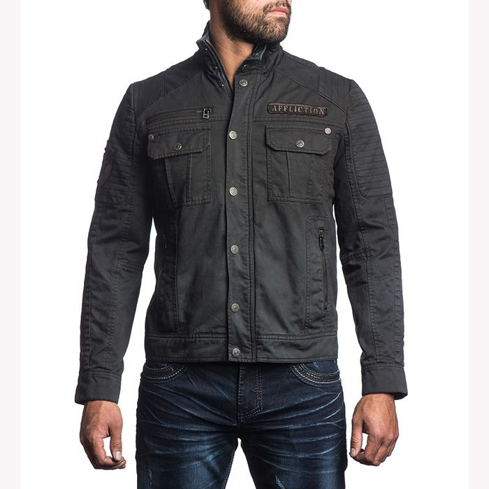 Men's Jacket Affliction Dusty Trail | MMA shop - clothing and equipment for Martial Arts | Affliction