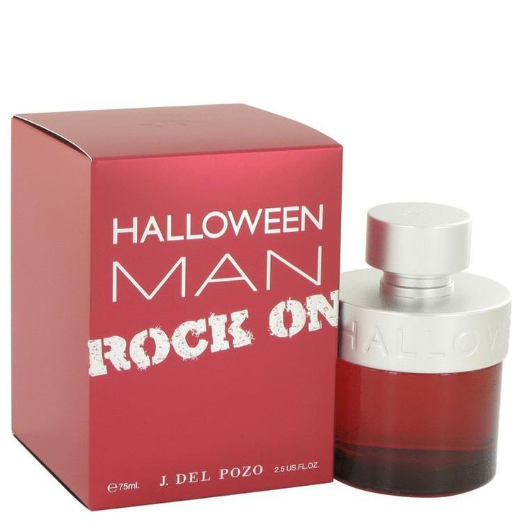 Halloween Man Rock On by Jesus Del Pozo Eau De Toilette Spray 2.5 oz