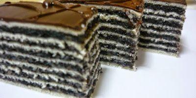Receptek, és hasznos cikkek oldala: Mákos torta