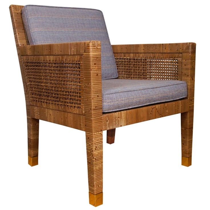 Rattan Chair Designed By Billy Baldwin