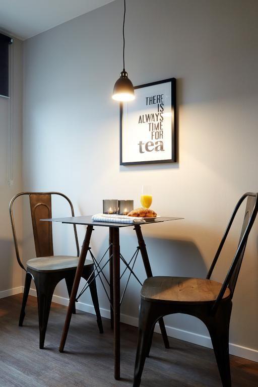 Gemütliche Sitzgelegenheit in der Küche - perfekt für einen ...