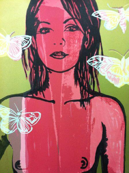 Untitled 1V - David Bromley