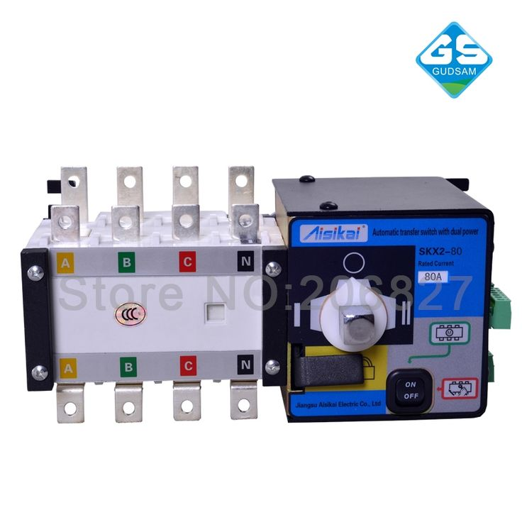 (115.00$)  Buy here - http://aitrs.worlditems.win/all/product.php?id=32802946113 - 80A three phase genset ATS. automatic transfer switch 4P(ATS 80A)
