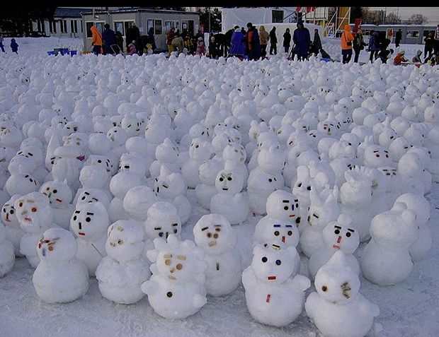 35 Creative, Funny Snowman Pictures for Winter Fun ...