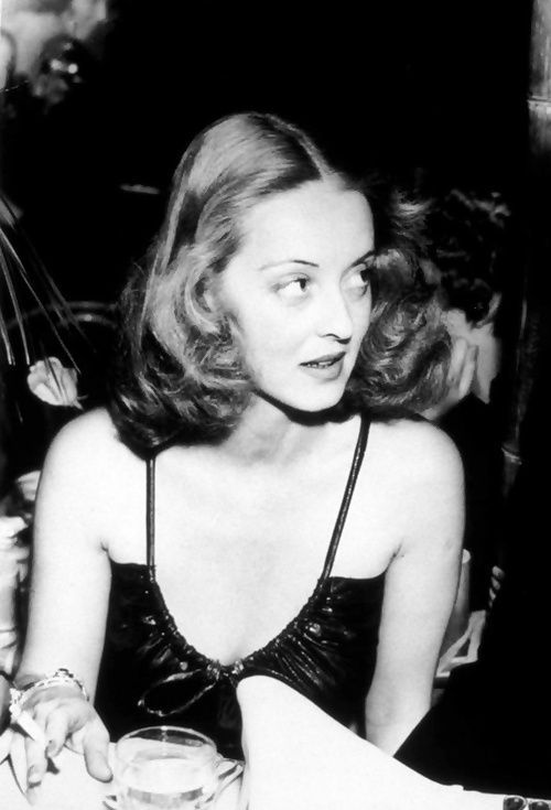 """When I was a girl, in the 60s, I'd come home from school, and I'd turn on the old movie channel, then I'd plump down on the couch with my girlfriends and take lessons from Bette Davis on how to scare the hell out of a man."" Meryl Streep on Bette Davis."