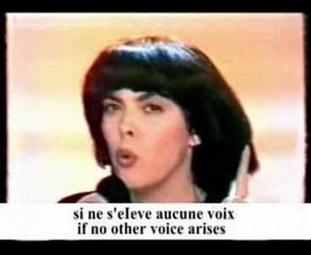 Mireille Mathieu Demoiselle D'Orleans - YouTube