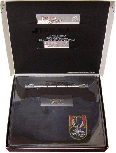 Episode I Darth Maul Double Lightsaber .45 Scaled Replica Collectors Edition @ niftywarehouse.com