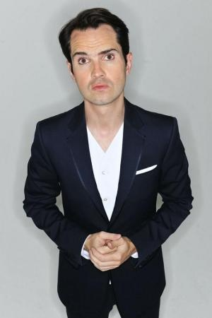 Jimmy Carr  - I can't resist a funny guy in eyeliner... no, not Russell Brand. Jimmy!