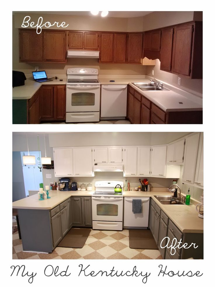 Kitchen Cabinets Before And After: My Old Kentucky House
