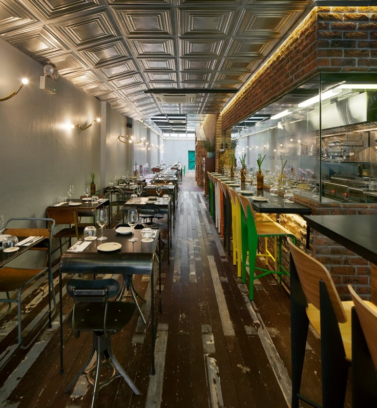 While There Are Some Similarities Between The Two Places From A Style Standpoint Brick And Boards This Latest Venture Sports More Industrial Aesthetic