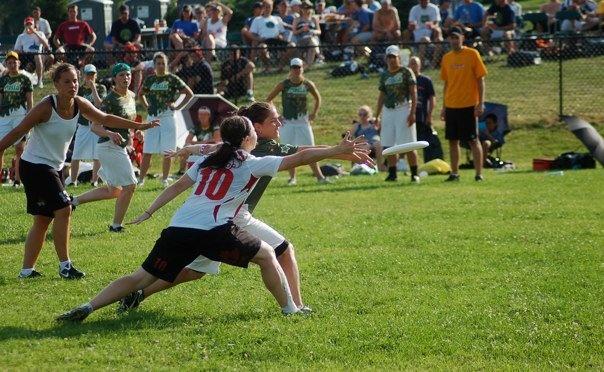 Ultimate Frisbee!  Great Sport!