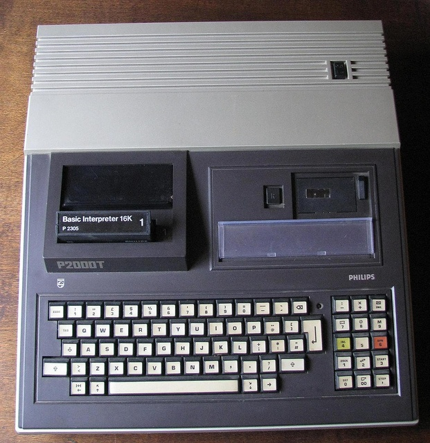 Philips P2000T (1980) Retrocomputer Vintage Computer - Z80