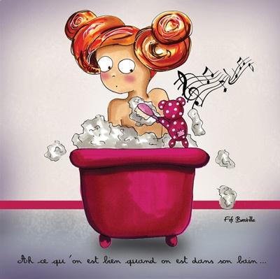 bathing.quenalbertini: Dans mon Bain - Fifi Bastille