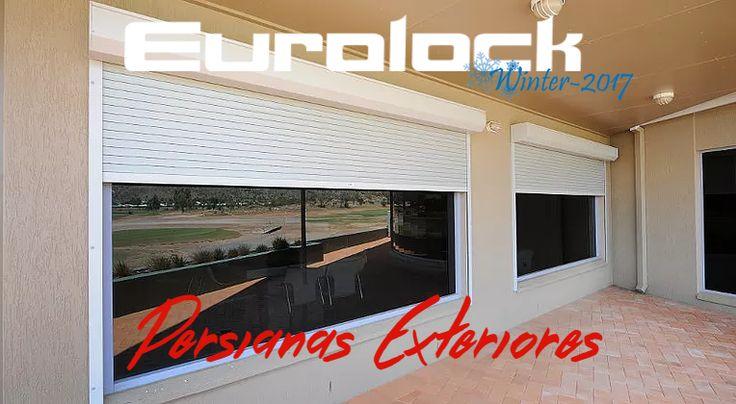 Sus ventanas más seguras y protegidas con Persianas Exteriores Eurolock. Representantes exclusivo de PERSAX España. www.eurolock.cl