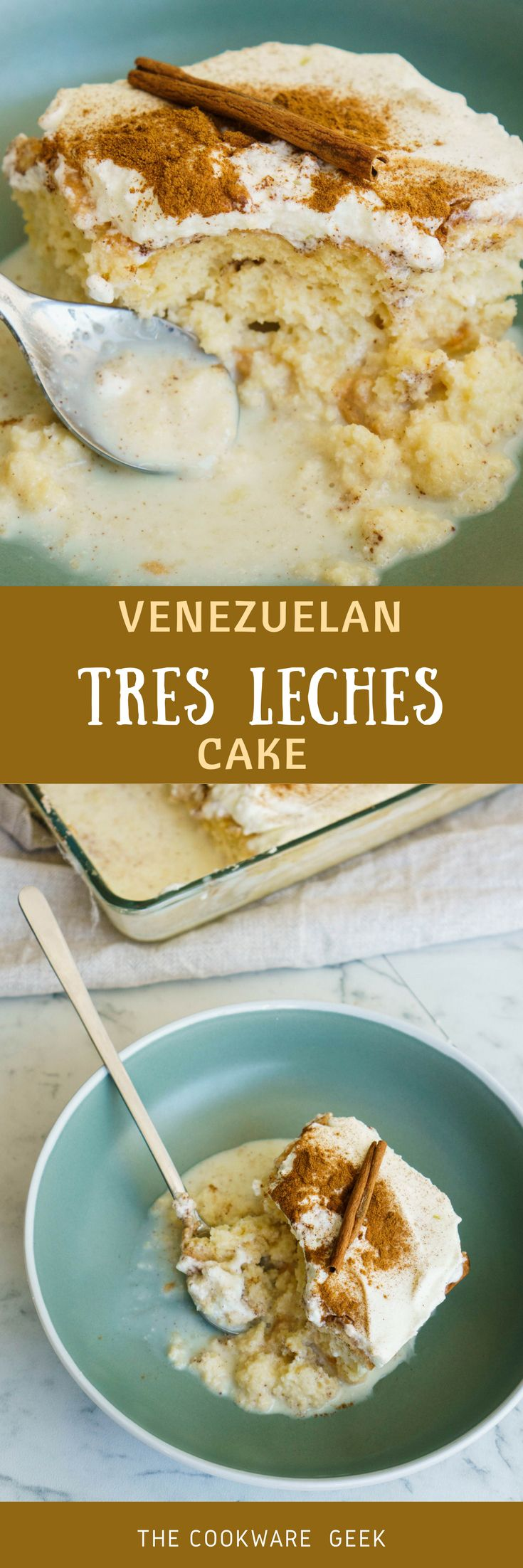 A truly Venezuelan tres leches cake is something that changes your life.   I'm not even exaggerating with this. Learn how to make a tres leches   cake. (with video) | The Cookware Geek