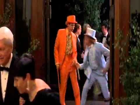 Dumb & Dumber Charity Ball Entrance - One of my kids weddings, I will be wearing the orange suit!