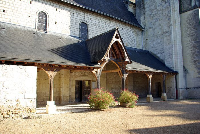 Eglise Saint-Martin.Restigné. Indre-et-Loire. centre