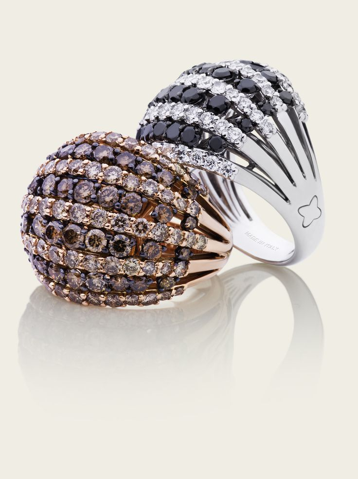 Diamanti Brown & Black, Haute Couture Recarlo