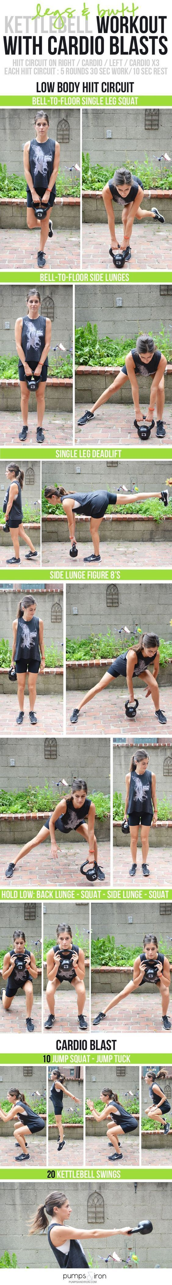 kettlebell workout with cardio  | Posted By: AdvancedWeightLossTips.com