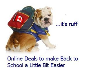 Back to School and Back to Work online coupons and savings for Canadians from namebrand stores you know and trust. Kids, teens, men's and women's  clothing and shoes deals with shipping to areas in Canada http://www.onlineshoppingmallcanada.ca/fashion-deals-banners