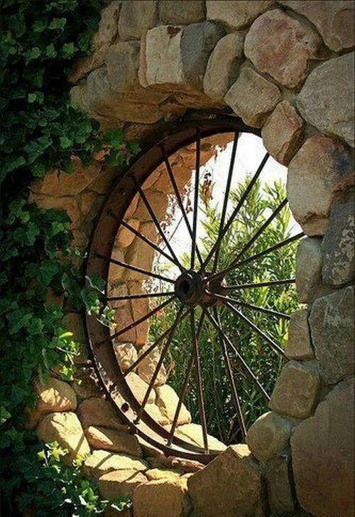 Bicycle wheel 'window'