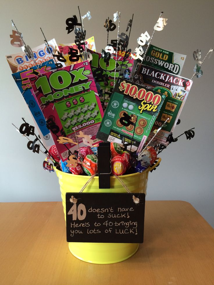 Fun gift idea. 40th birthday gifts, Birthday gag gifts