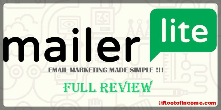 REVIEWING TOPICS AT A GLANCE -> What Is Mailerlite Email Marketing Service ? - Mailerlite