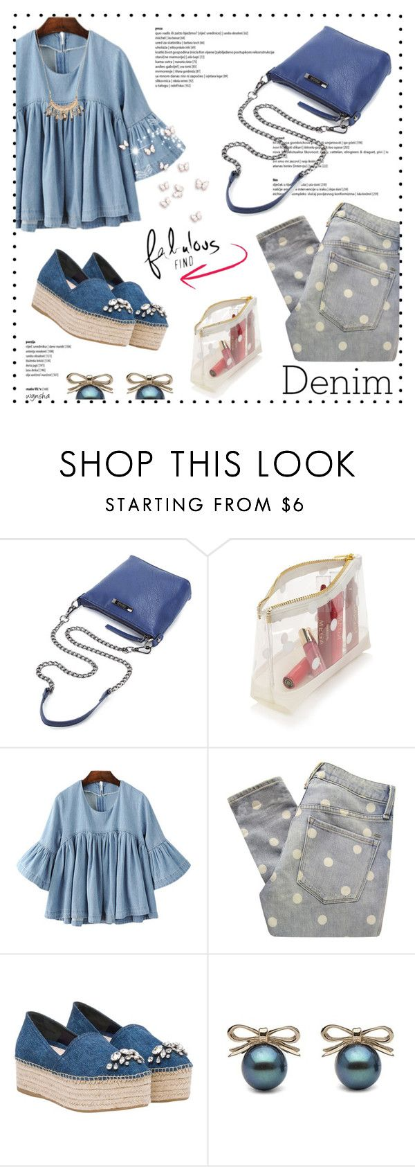 """""""Good JEANS #3"""" by wynsha ❤ liked on Polyvore featuring Forever 21, Marc by Marc Jacobs, Miu Miu, Accessorize, jeans, Denimondenim, polyvorecommunity, polyvorecontest and polyvorefashion"""
