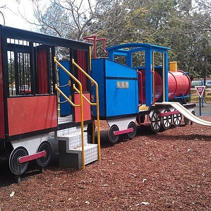 Milton Park Train