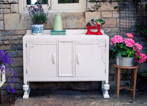 Vintage Shabby Chic Sideboard