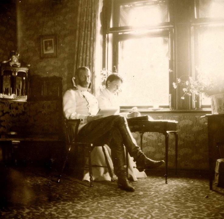"""Grand Duke Sergei Alexandrovich Romanov of Russia and Grand Duchess  Elisabeth Feodorovna Romanova of Russia.   """"AL"""""""