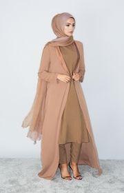 Tan Duster Coat
