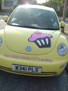 VW Cupcake Delivery Bug this will be my bug but I want it to be pink