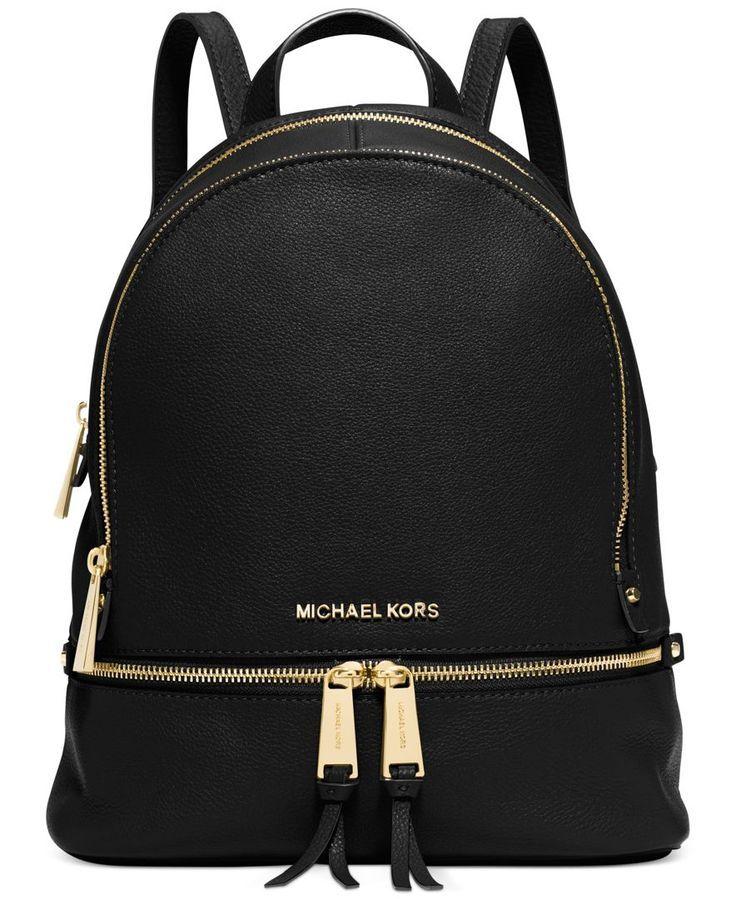 MICHAEL Michael Kors Rhea Zip Small Backpack Diese und weitere Taschen auf www.designertaschen-shops.de entdecken