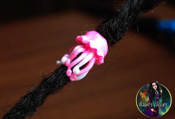 Perles pour dreads « Méduses ». Perle pour dreadlocks