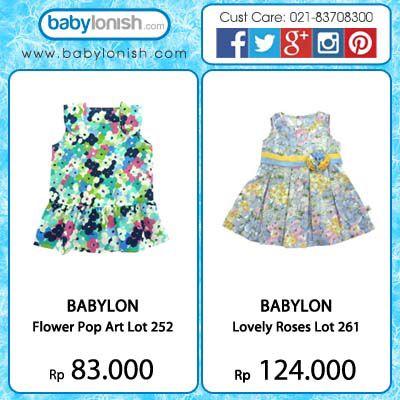 Dapatkan koleksi rok bunga dari Babylon. Untuk usia 6 bulan - 3 tahun.  Hanya di www.babylonish.com