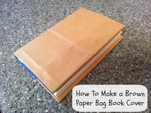 How To Make a Brown Paper Bag Book Cover. Remember when we used to do this at school? http://momalwaysfindsout.com/2012/10/how-to-make-a-paper-bag-book-cover/
