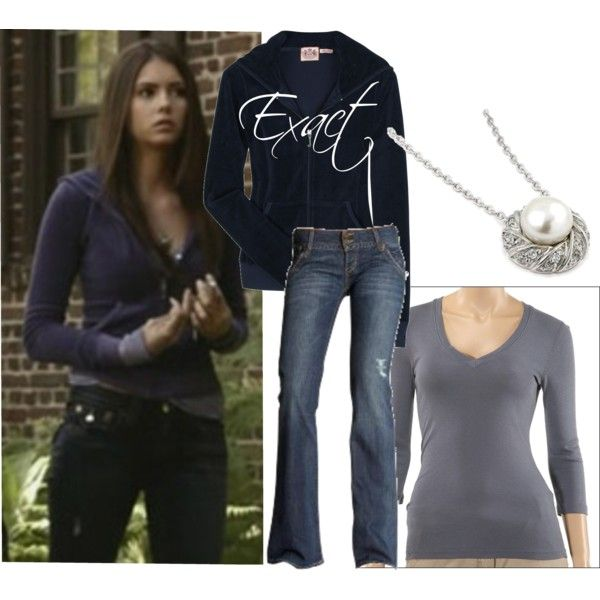 U0026quot;Dress Like Elena Gilbertu0026quot; by alexandramathews on Polyvore   Get In My Closet!   Pinterest ...