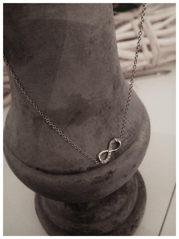 Bijoux #collier # argent # infini # mode #
