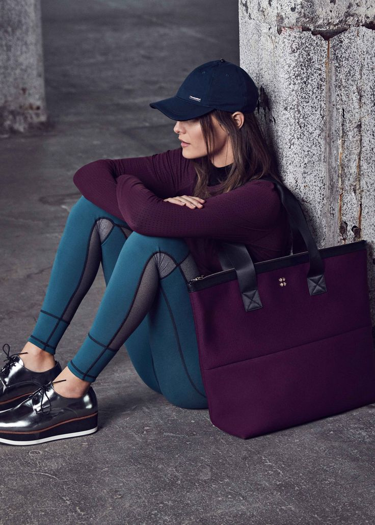 It's time to update your workout wardrobe with reversible leggings and must-have gym bags.